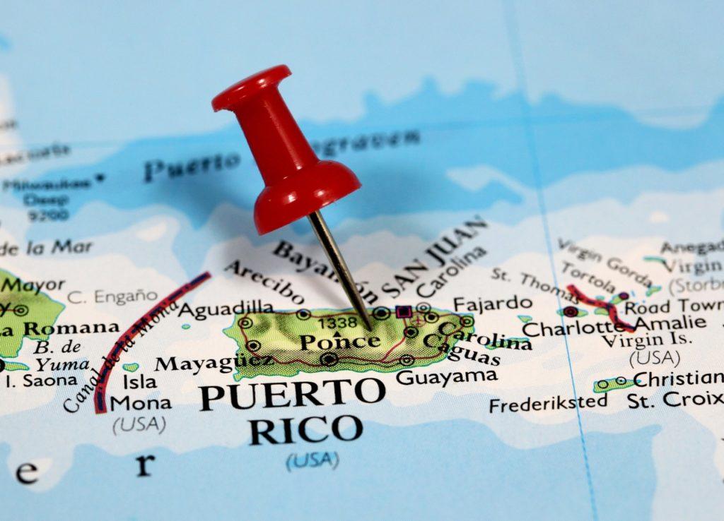 puerto Rico Landkarte Copyright Booby17