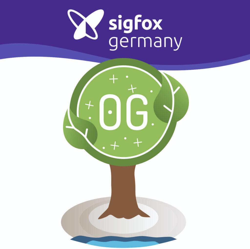 Sigfox Germany Logo mit OG Baum